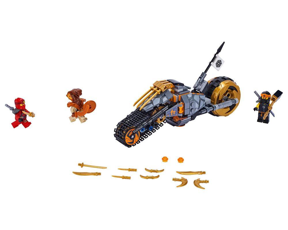 LEGO Set 70672-1 Cole's Dirt Bike (LEGO - Model)