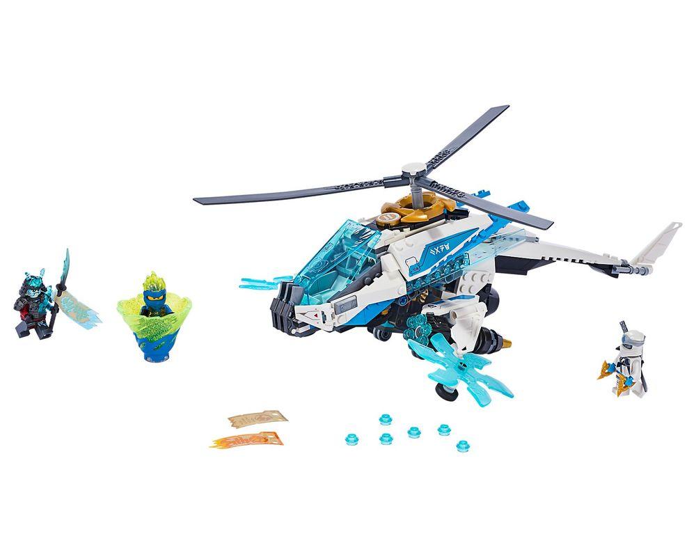 LEGO Set 70673-1 ShuriCopter (LEGO - Model)