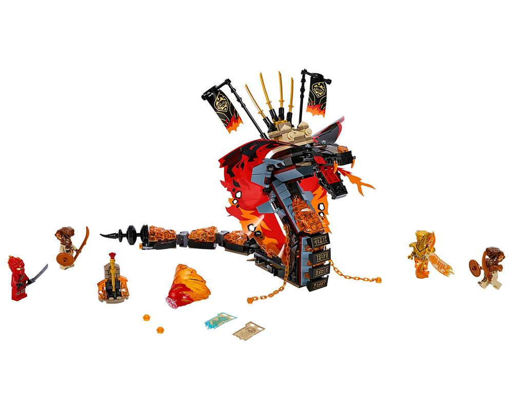 LEGO Set 70674-1 Fire Fang (Model - A-Model)