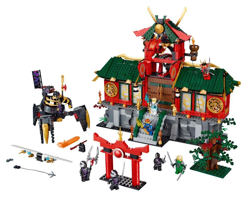 LEGO Set 70728-1 Battle for Ninjago City (LEGO - Model)