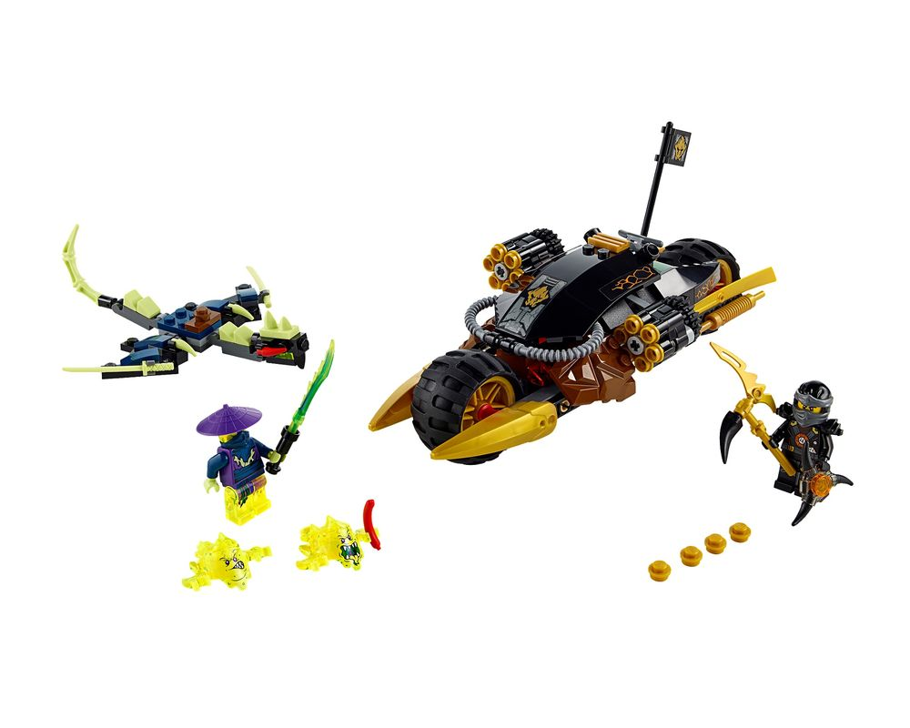 LEGO Set 70733-1 Blaster Bike (LEGO - Model)