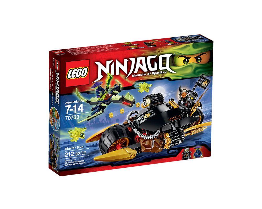 LEGO Set 70733-1 Blaster Bike