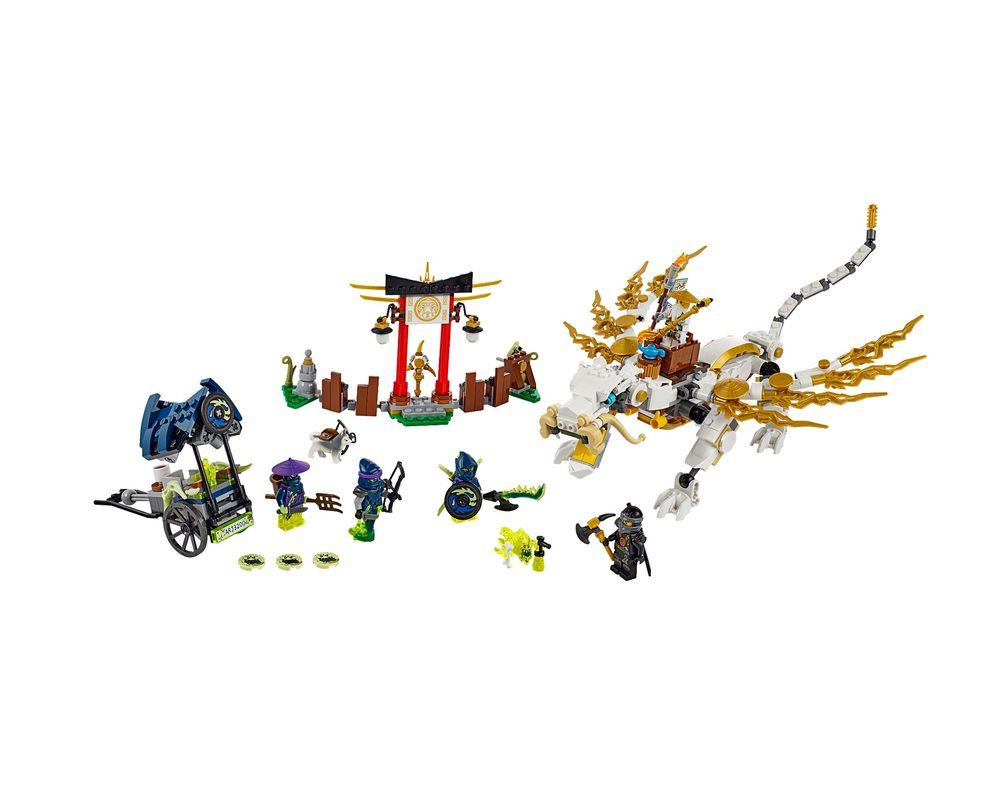 LEGO Set 70734-1 Master Wu Dragon (LEGO - Model)