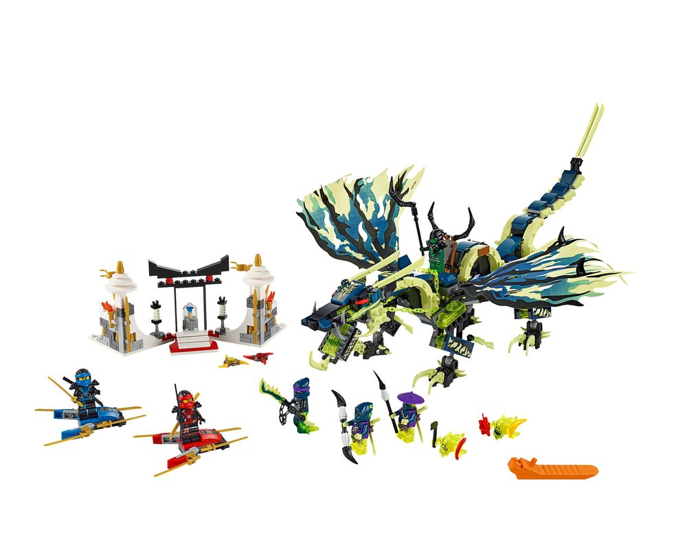 LEGO Set 70736-1 Attack of the Morro Dragon (Model - A-Model)