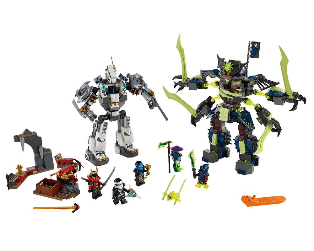 LEGO Set 70737-1 Titan Mech Battle (LEGO - Model)