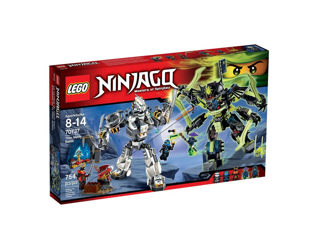 LEGO Set 70737-1 Titan Mech Battle