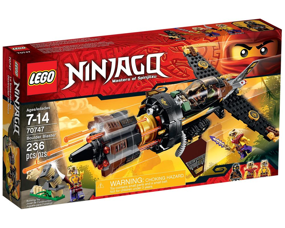 LEGO Set 70747-1 Boulder Blaster