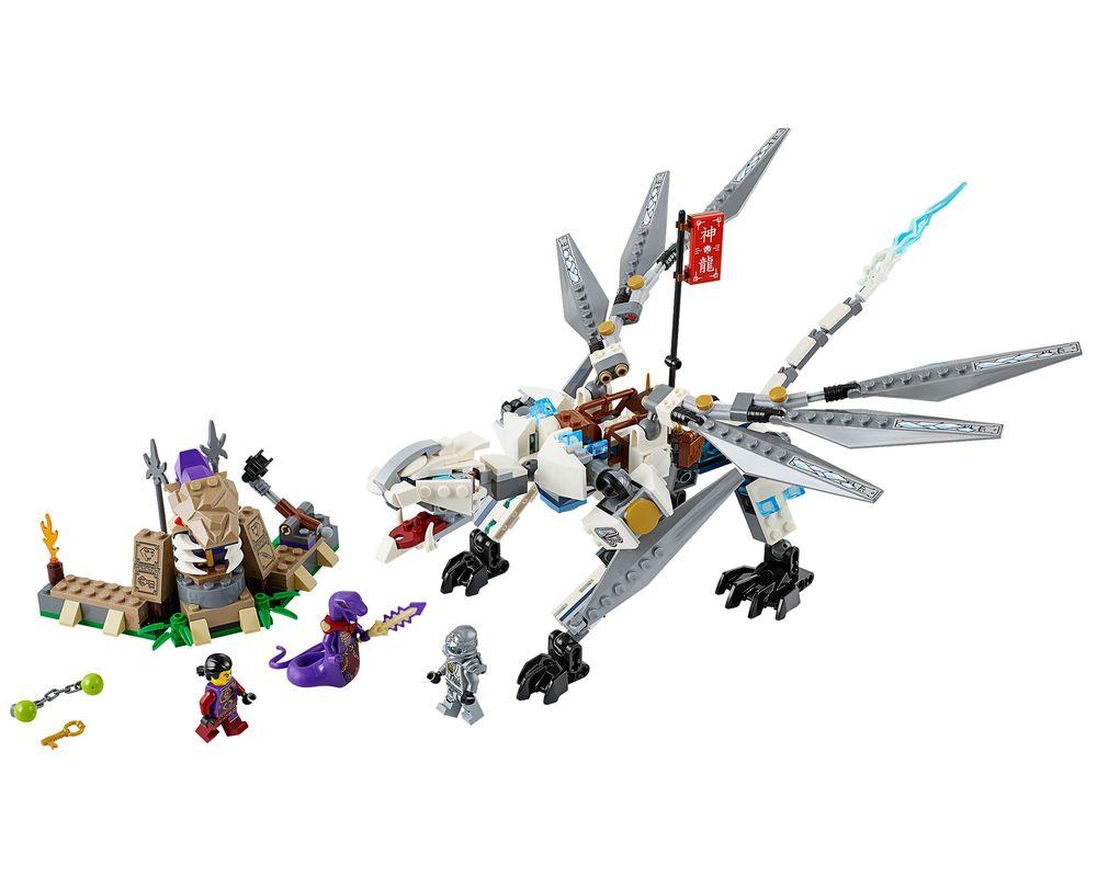 LEGO Set 70748-1 Titanium Dragon (Model - A-Model)