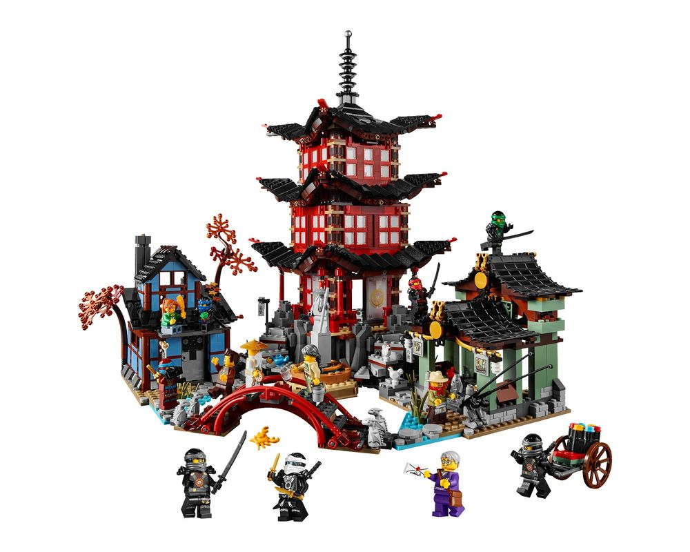LEGO Set 70751-1 Temple of Airjitzu (Model - A-Model)