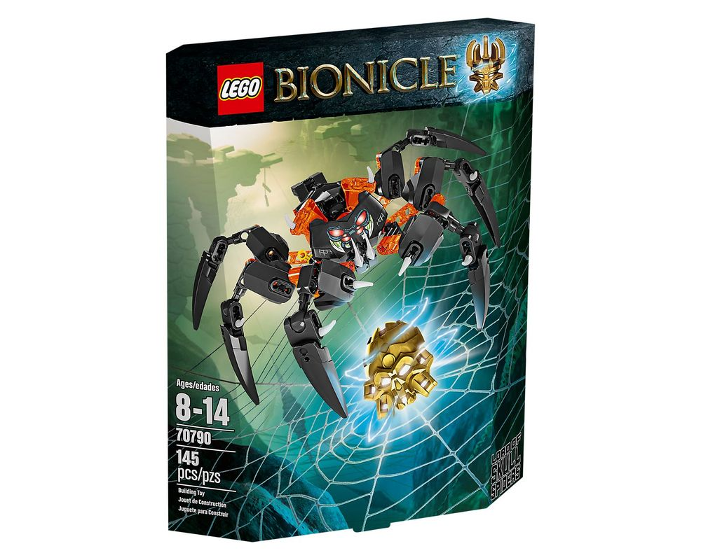 LEGO Set 70790-1 Lord of Skull Spiders