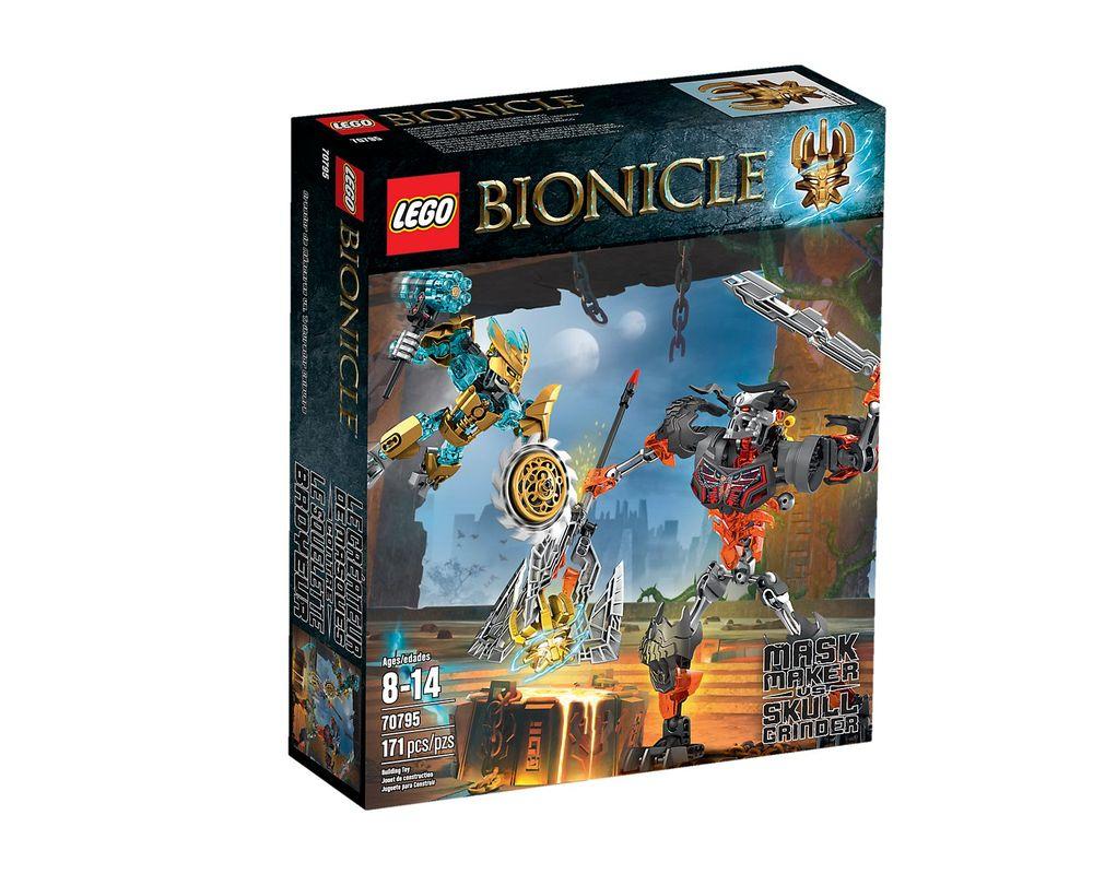 LEGO Set 70795-1 Mask Maker vs. Skull Grinder