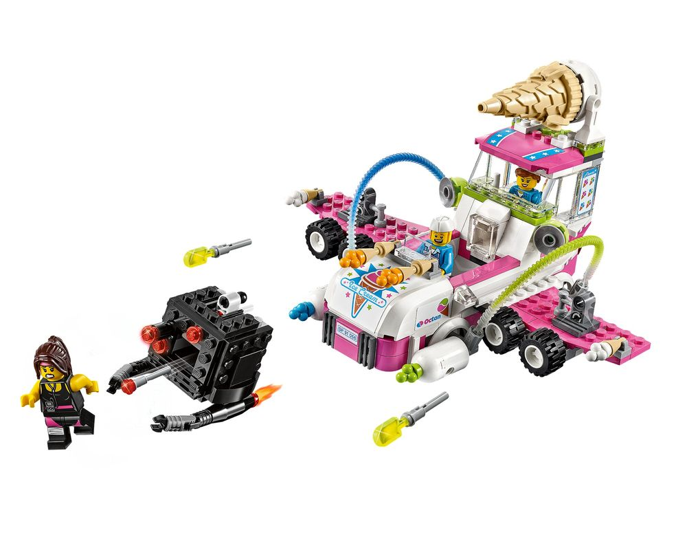 LEGO Set 70804-1 Ice Cream Machine (LEGO - Model)