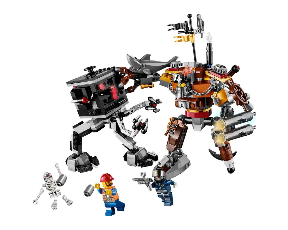 LEGO Set 70807-1 MetalBeard's Duel (Model - A-Model)