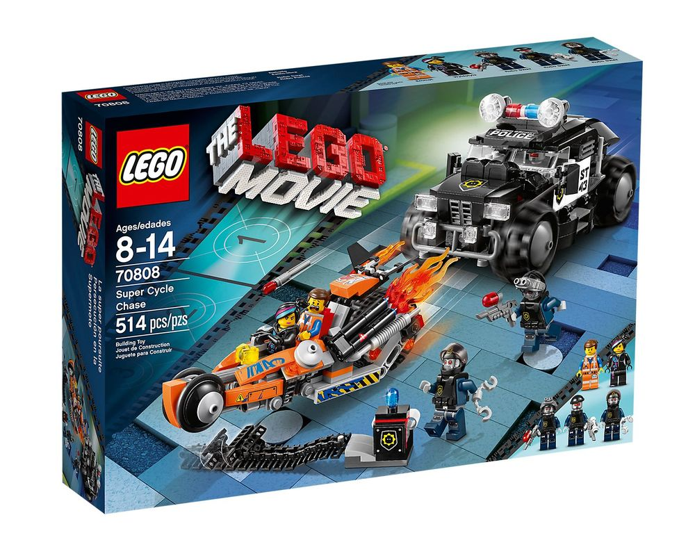 LEGO Set 70808-1 Super Cycle Chase