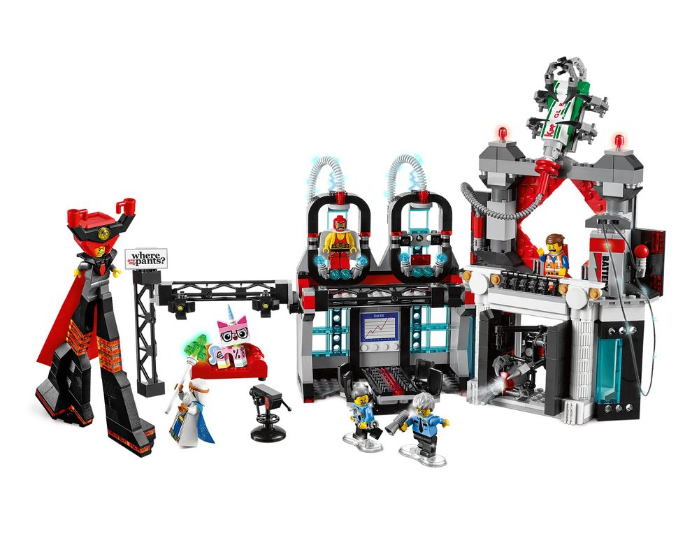 LEGO Set 70809-1 Lord Business' Evil Lair (Model - A-Model)