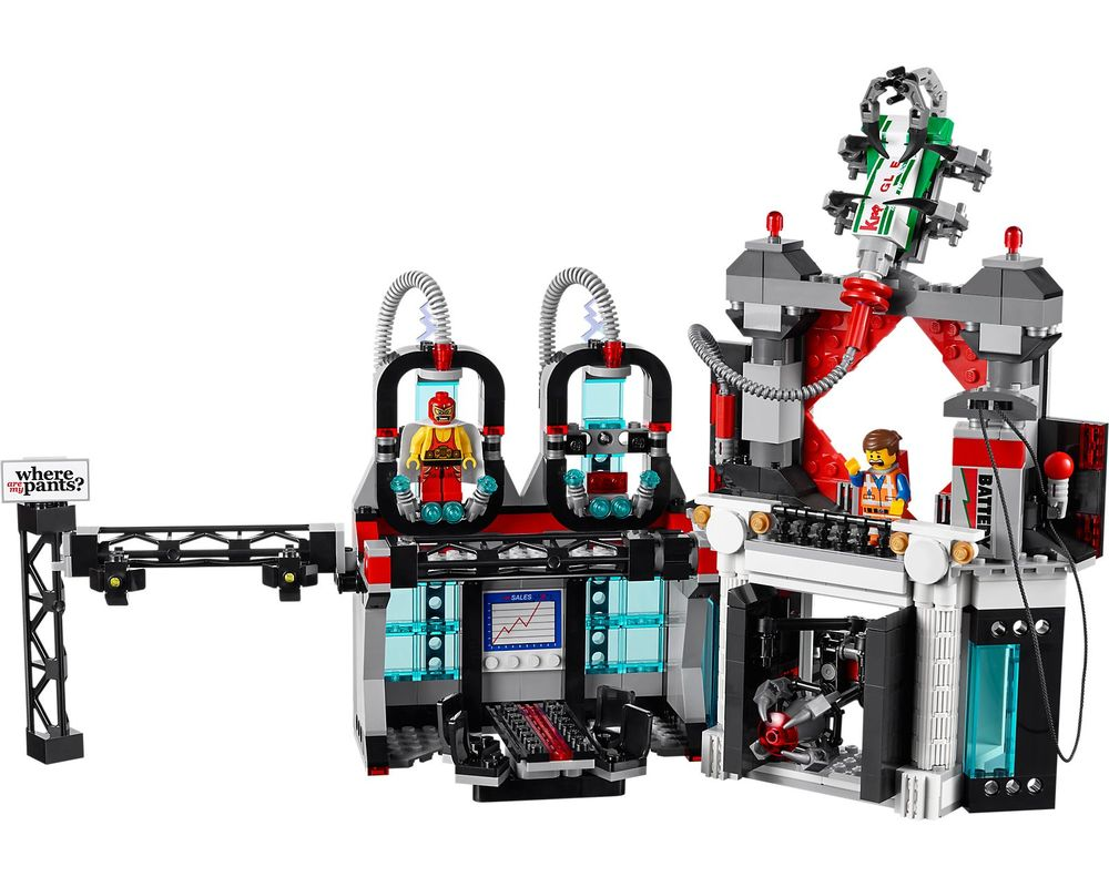 LEGO Set 70809-1 Lord Business' Evil Lair