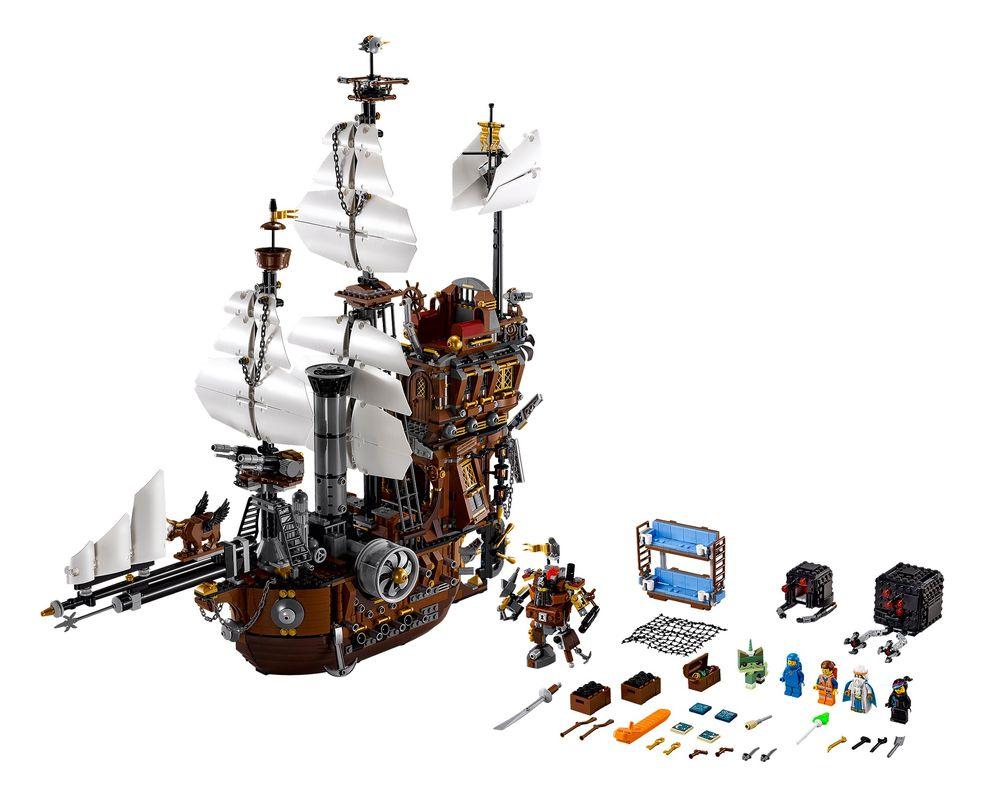 LEGO Set 70810-1 MetalBeard's Sea Cow (Model - A-Model)