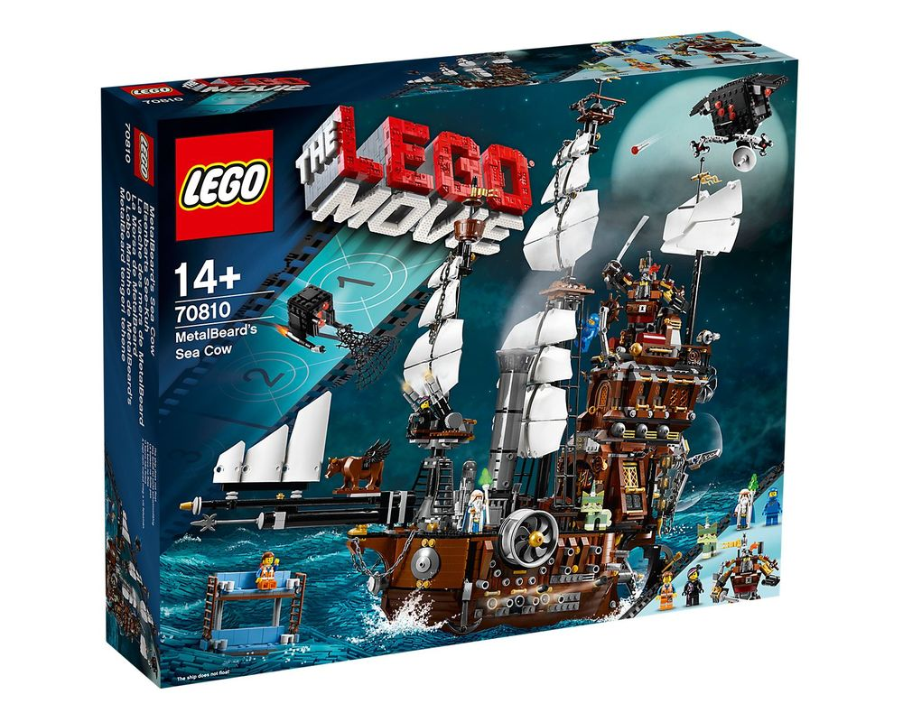LEGO Set 70810-1 MetalBeard's Sea Cow