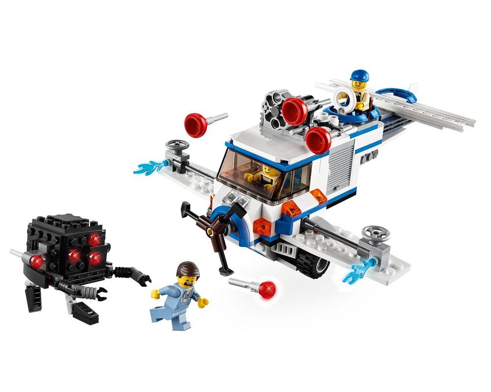 LEGO Set 70811-1 The Flying Flusher (Model - A-Model)