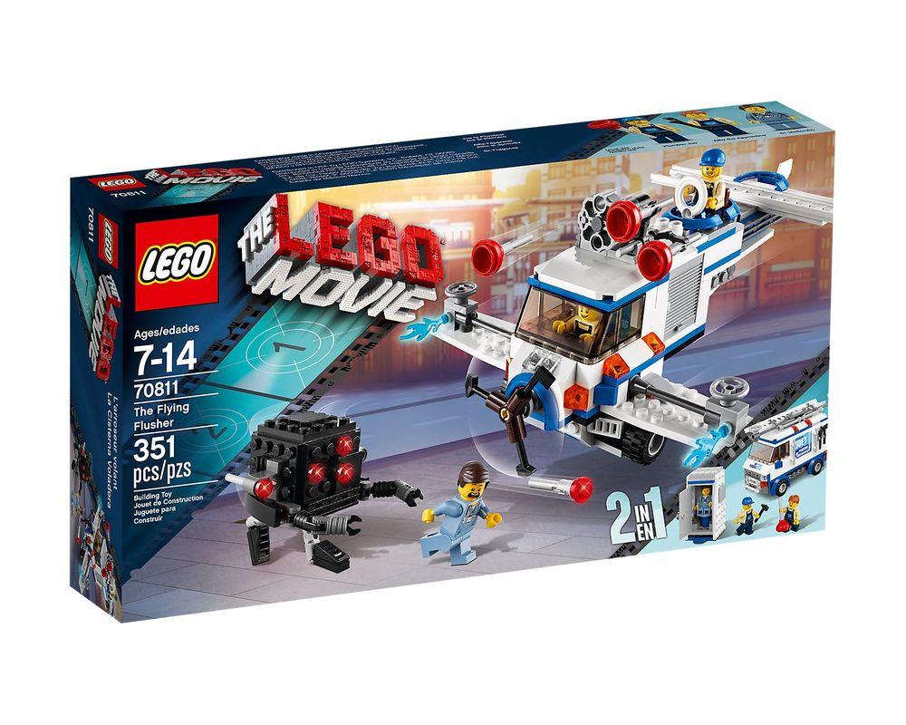 LEGO Set 70811-1 The Flying Flusher