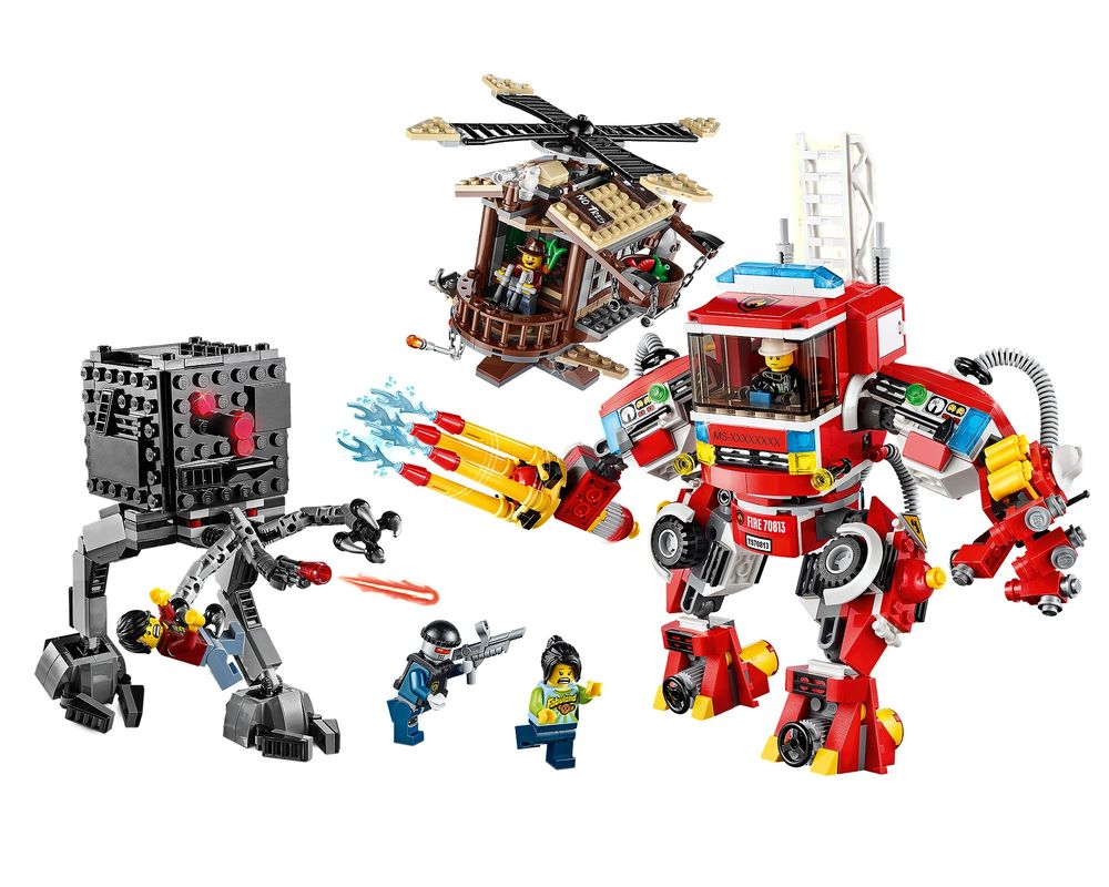 LEGO Set 70813-1 Rescue Reinforcements (LEGO - Model)