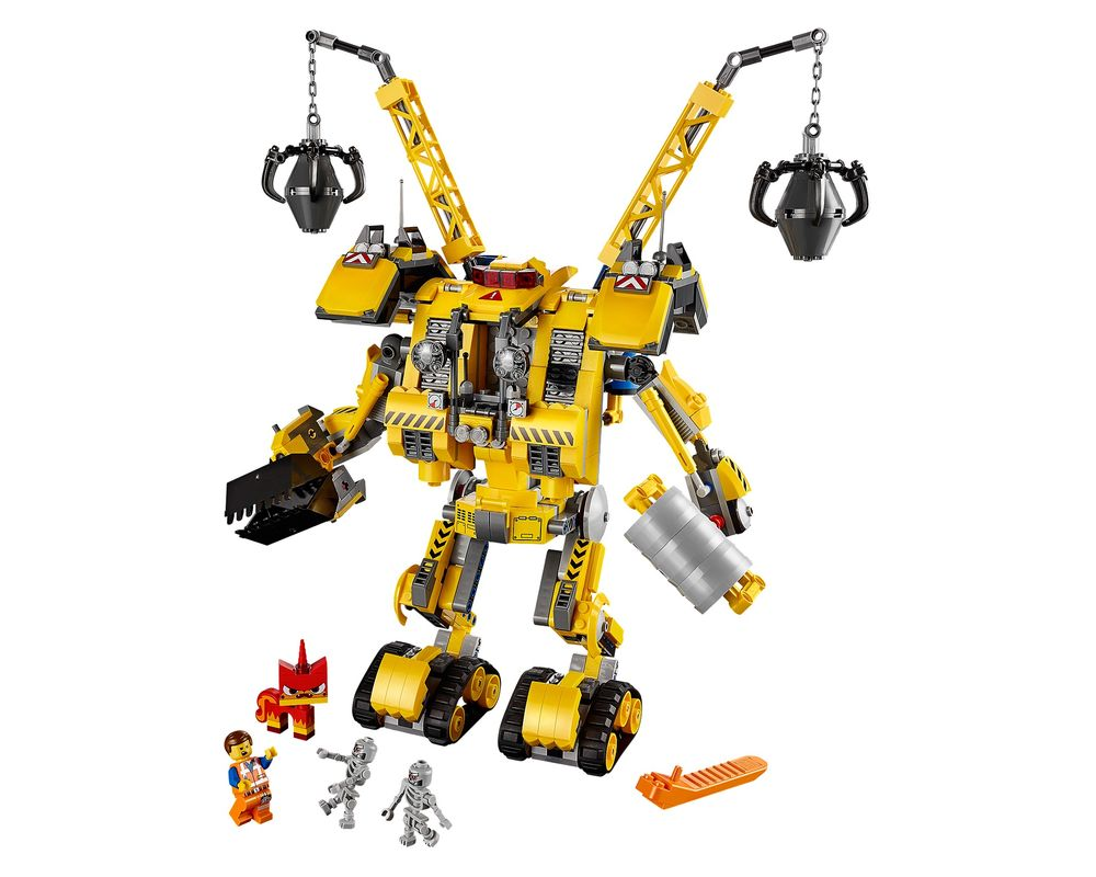 LEGO Set 70814-1 Emmet's Constructo-Mech (LEGO - Model)