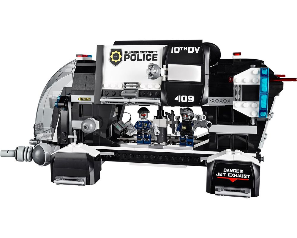 LEGO Set 70815-1 Super Secret Police Dropship