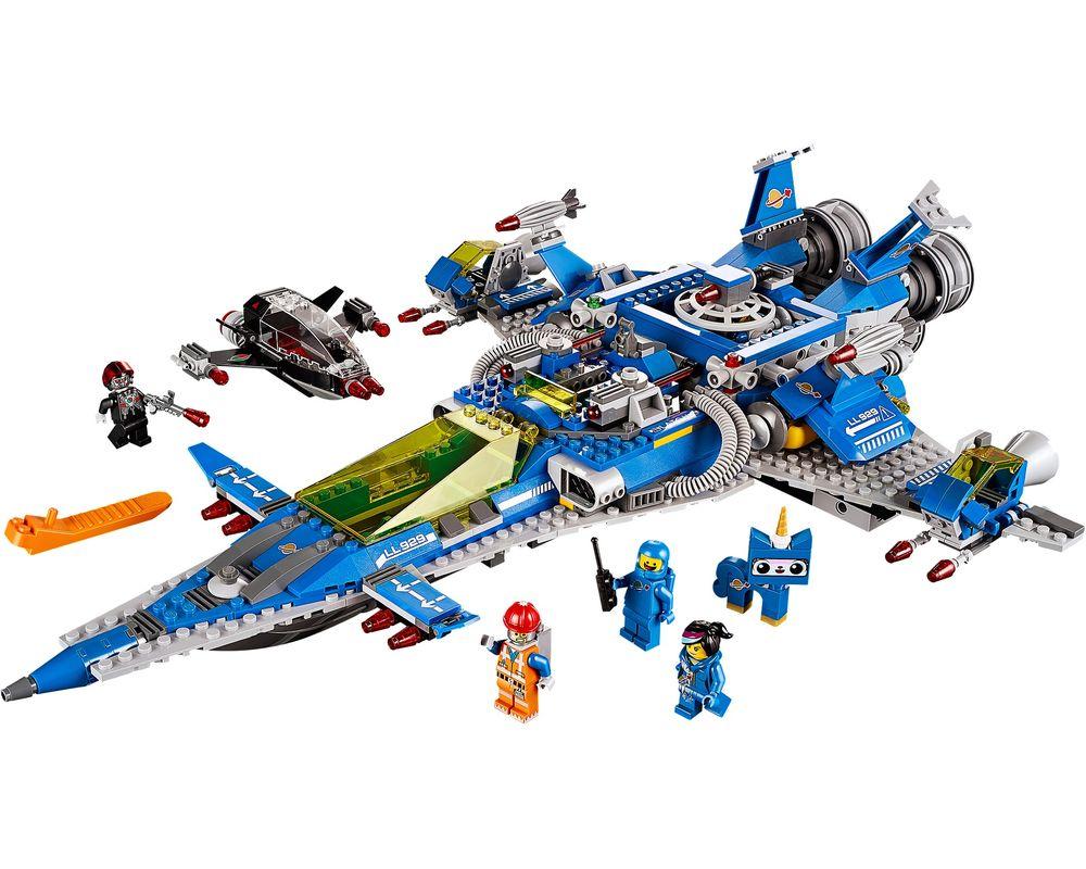 LEGO Set 70816-1 Benny's Spaceship, Spaceship, SPACESHIP! (LEGO - Model)