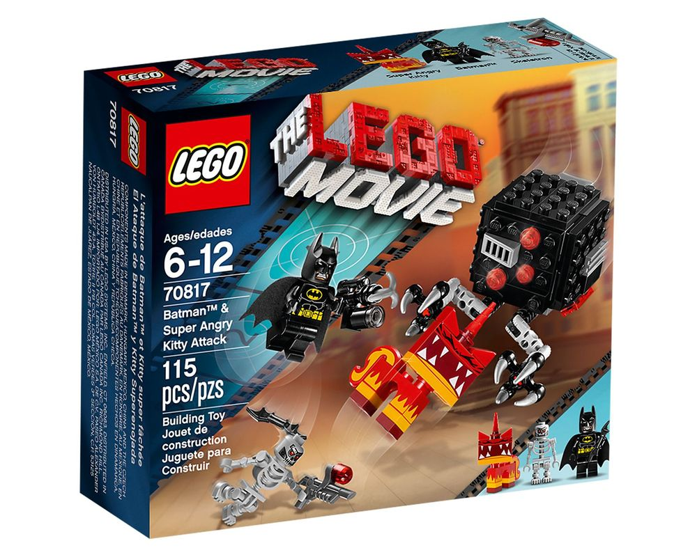 LEGO Set 70817-1 Batman & Super Angry Kitty Attack