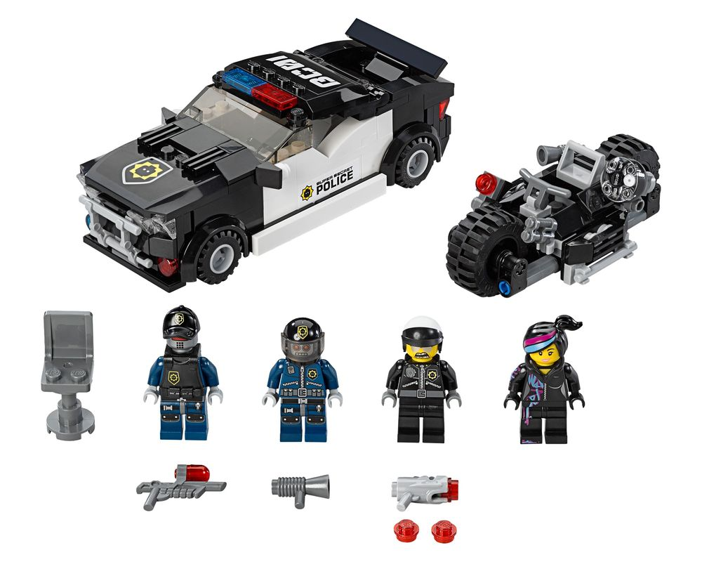 LEGO Set 70819-1 Bad Cop Car Chase (LEGO - Model)