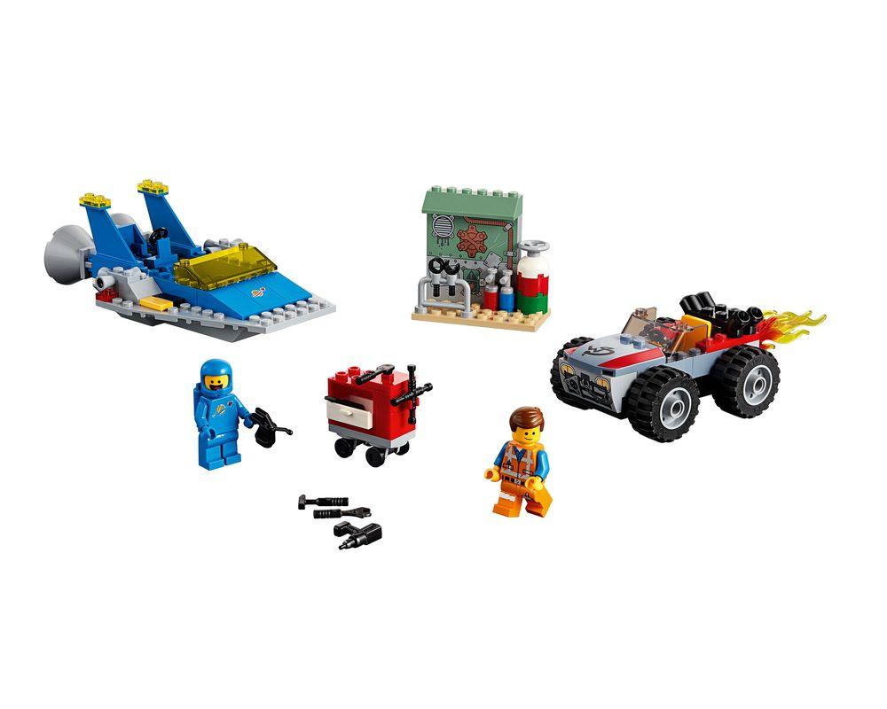 LEGO Set 70821-1 Emmet and Benny's 'Build and Fix' Workshop! (Model - A-Model)