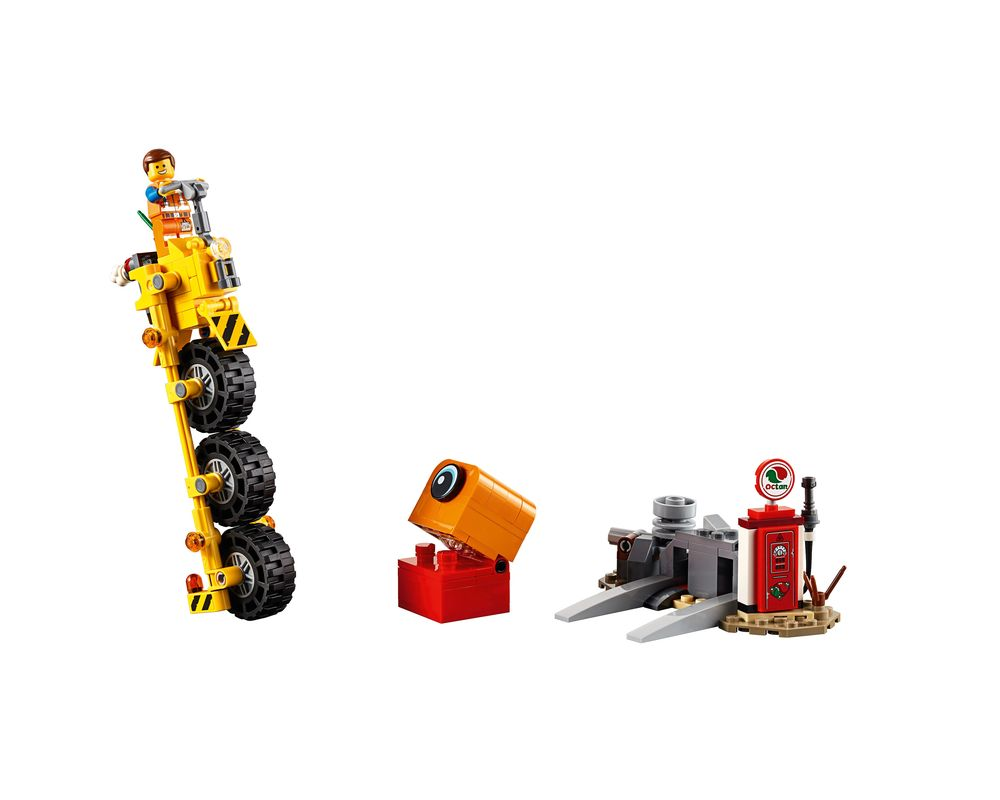 LEGO Set 70823-1 Emmet's Thricycle! (Model - A-Model)