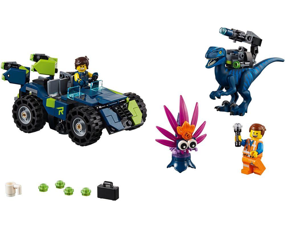 LEGO Set 70826-1 Rex's Rex-treme Offroader! (Model - A-Model)