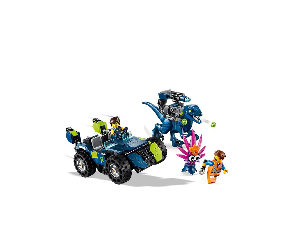 LEGO Set 70826-1 Rex's Rex-treme Offroader!