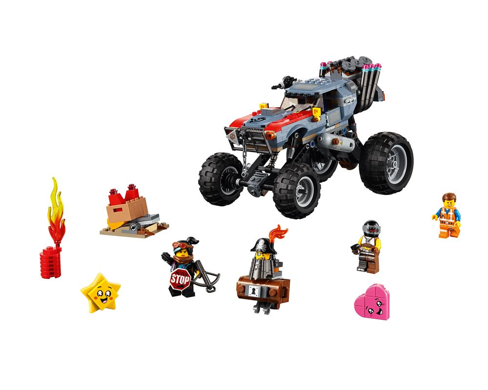 LEGO Set 70829-1 Emmet and Lucy's Escape Buggy! (Model - A-Model)