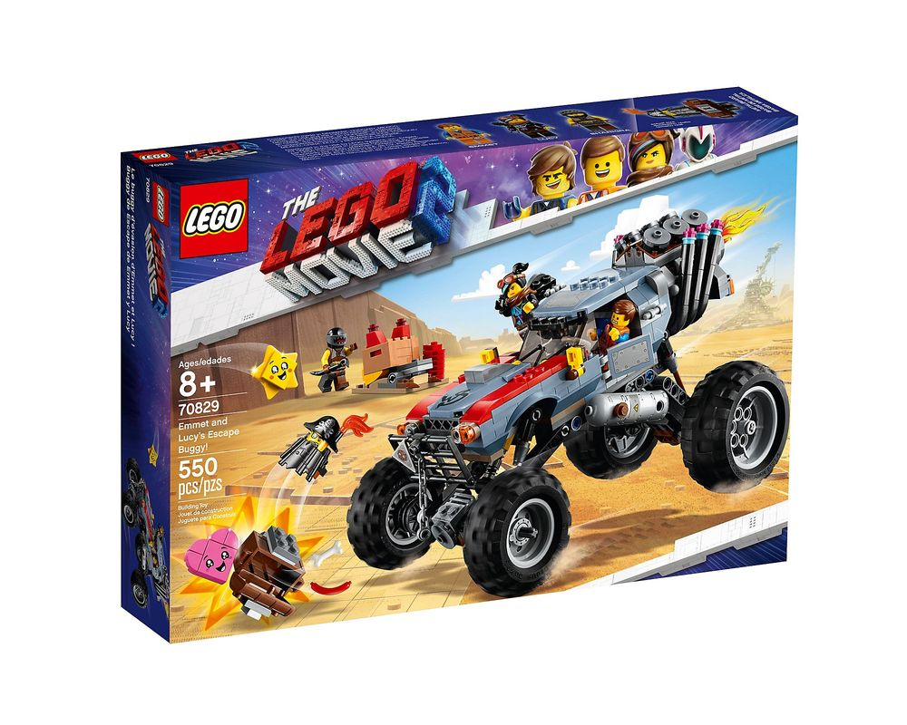 LEGO Set 70829-1 Emmet and Lucy's Escape Buggy!