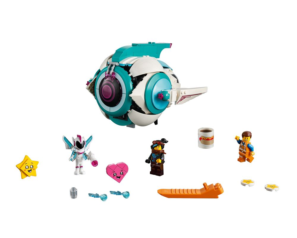 LEGO Set 70830-1 Sweet Mayhem's Systar Starship! (Model - A-Model)