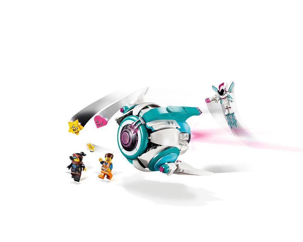 LEGO Set 70830-1 Sweet Mayhem's Systar Starship!