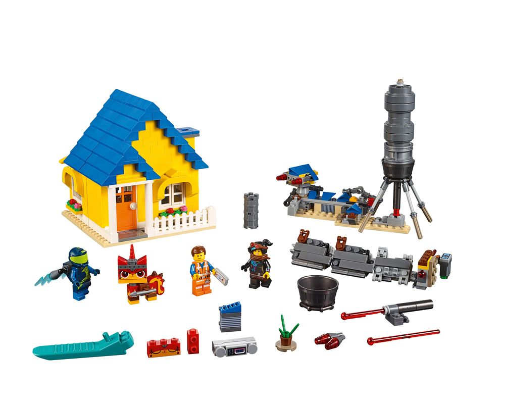 LEGO Set 70831-1 Emmet's Dream House / Rescue Rocket! (Model - A-Model)