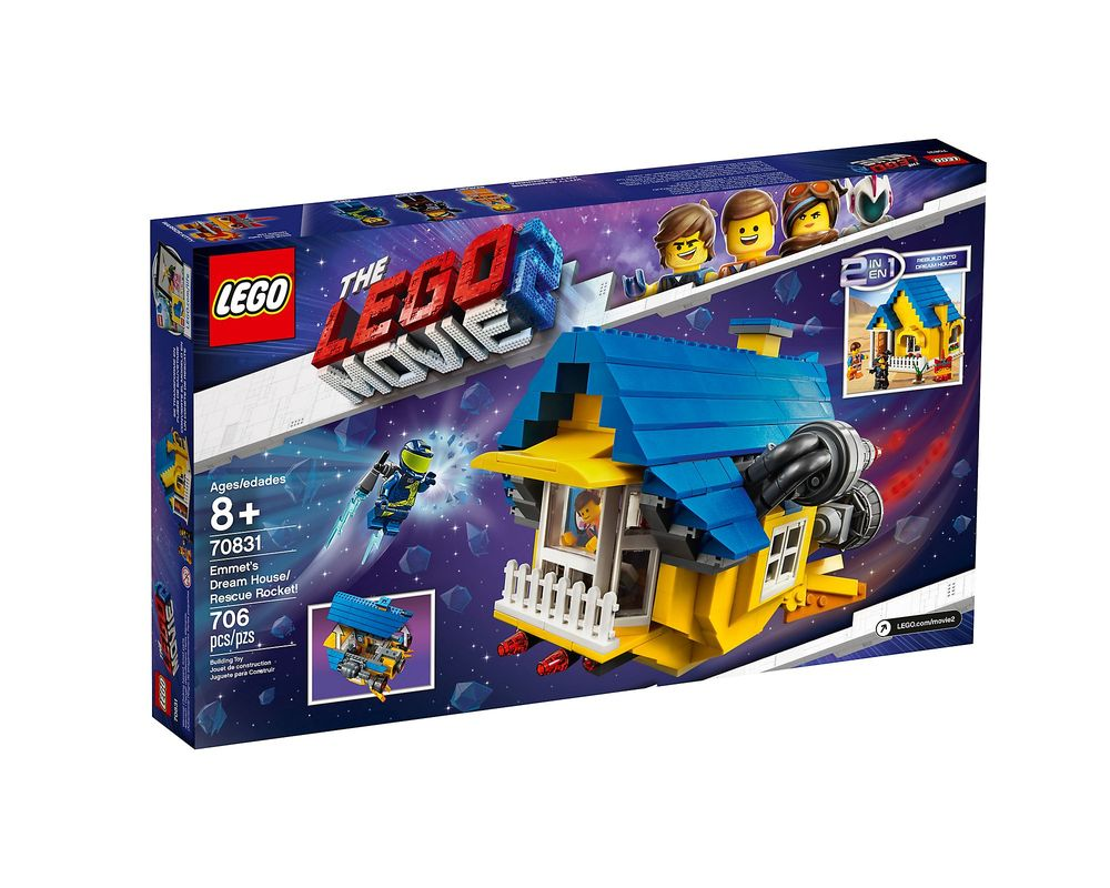 LEGO Set 70831-1 Emmet's Dream House / Rescue Rocket!
