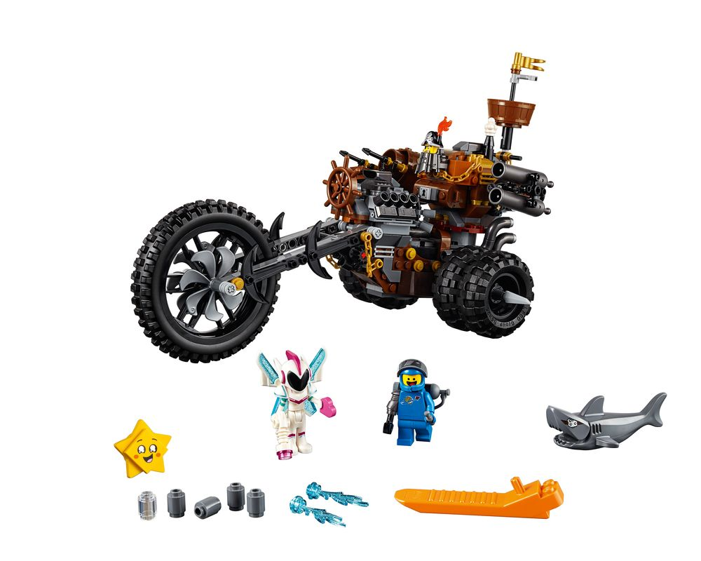 LEGO Set 70834-1 MetalBeard's Heavy Metal Motor Trike! (Model - A-Model)