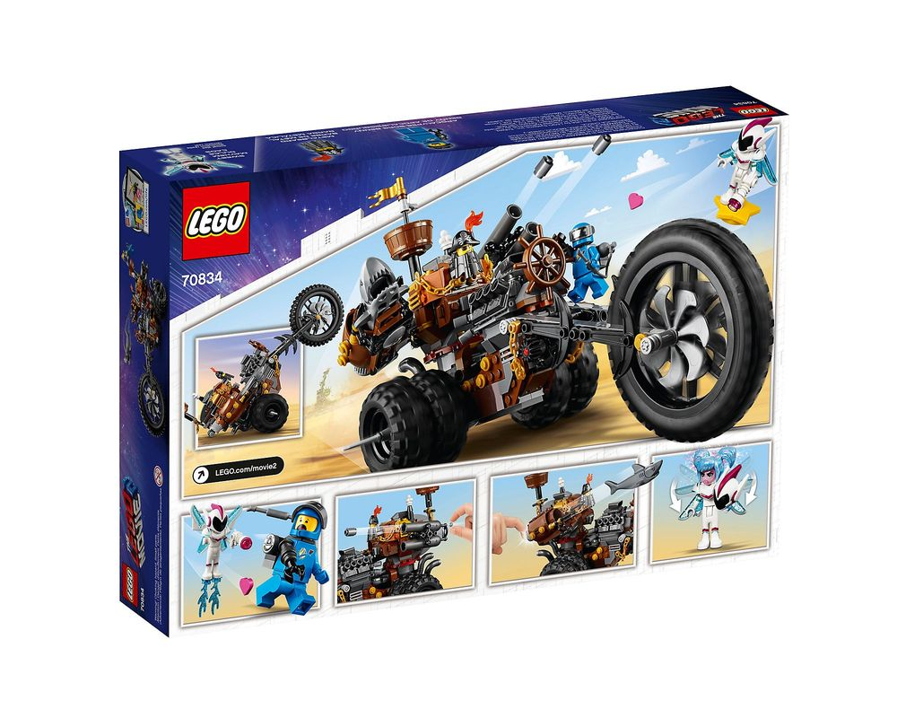 LEGO Set 70834-1 MetalBeard's Heavy Metal Motor Trike!
