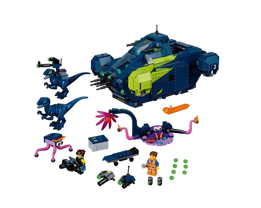LEGO Set 70835-1 Rex's Rexplorer! (Model - A-Model)