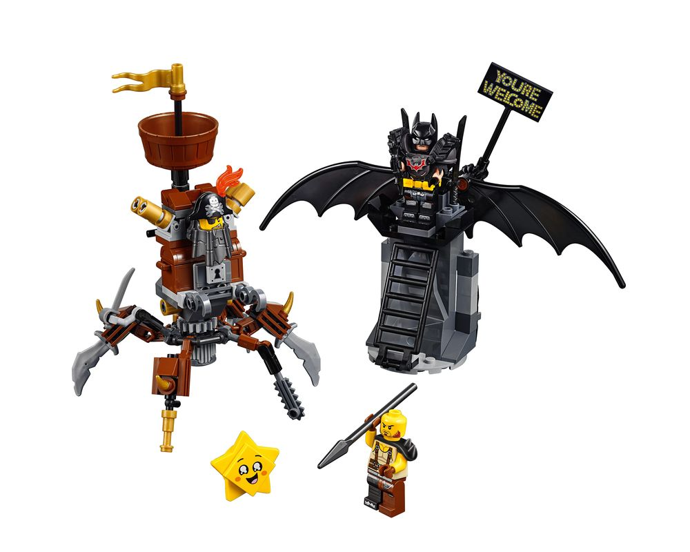 LEGO Set 70836-1 Battle-Ready Batman and MetalBeard (LEGO - Model)