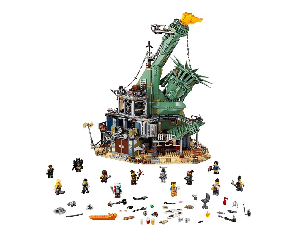 LEGO Set 70840-1 Welcome to Apocalypseburg! (Model - A-Model)