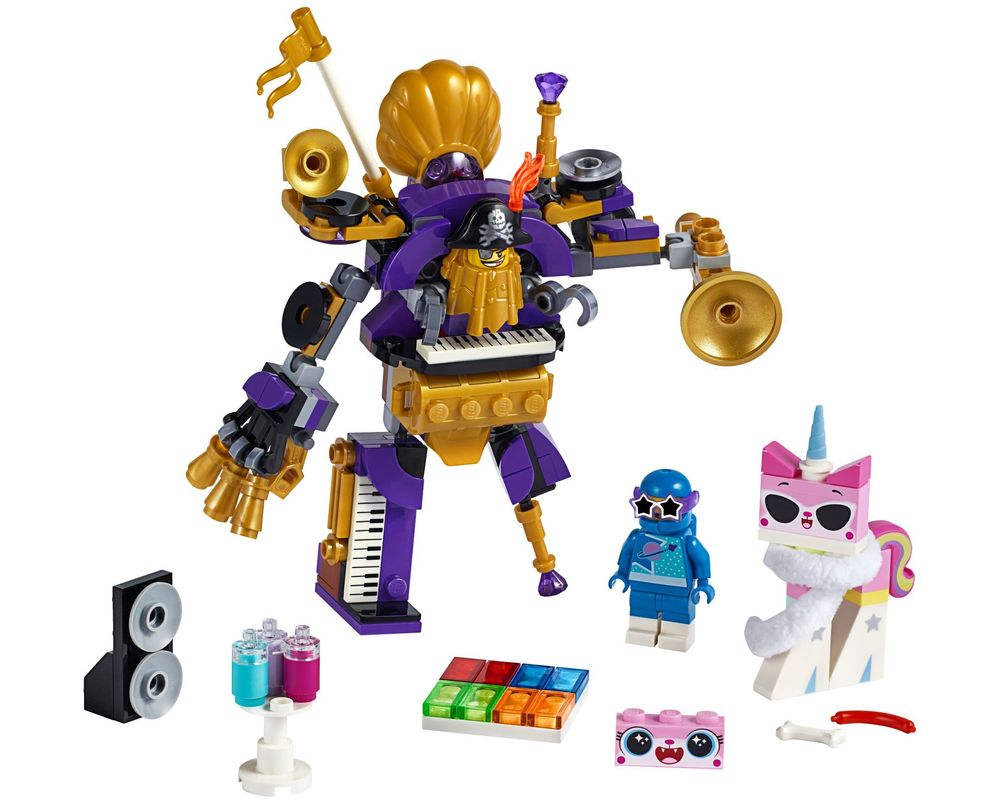 LEGO Set 70848-1 Systar Party Crew (Model - A-Model)
