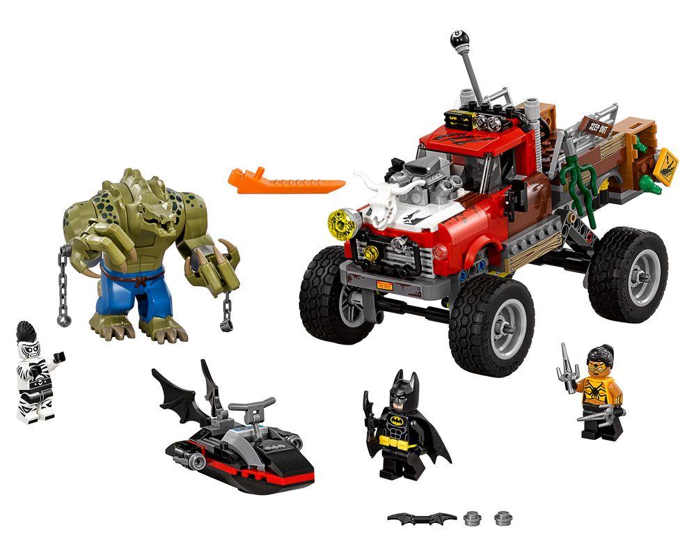 LEGO Set 70907-1 Killer Croc Tail-Gator (Model - A-Model)
