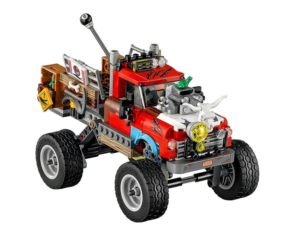 LEGO Set 70907-1 Killer Croc Tail-Gator