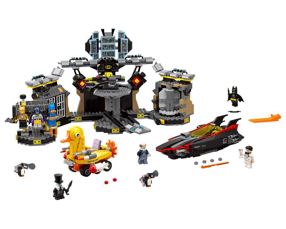 LEGO Set 70909-1 Batcave Break-in (Model - A-Model)