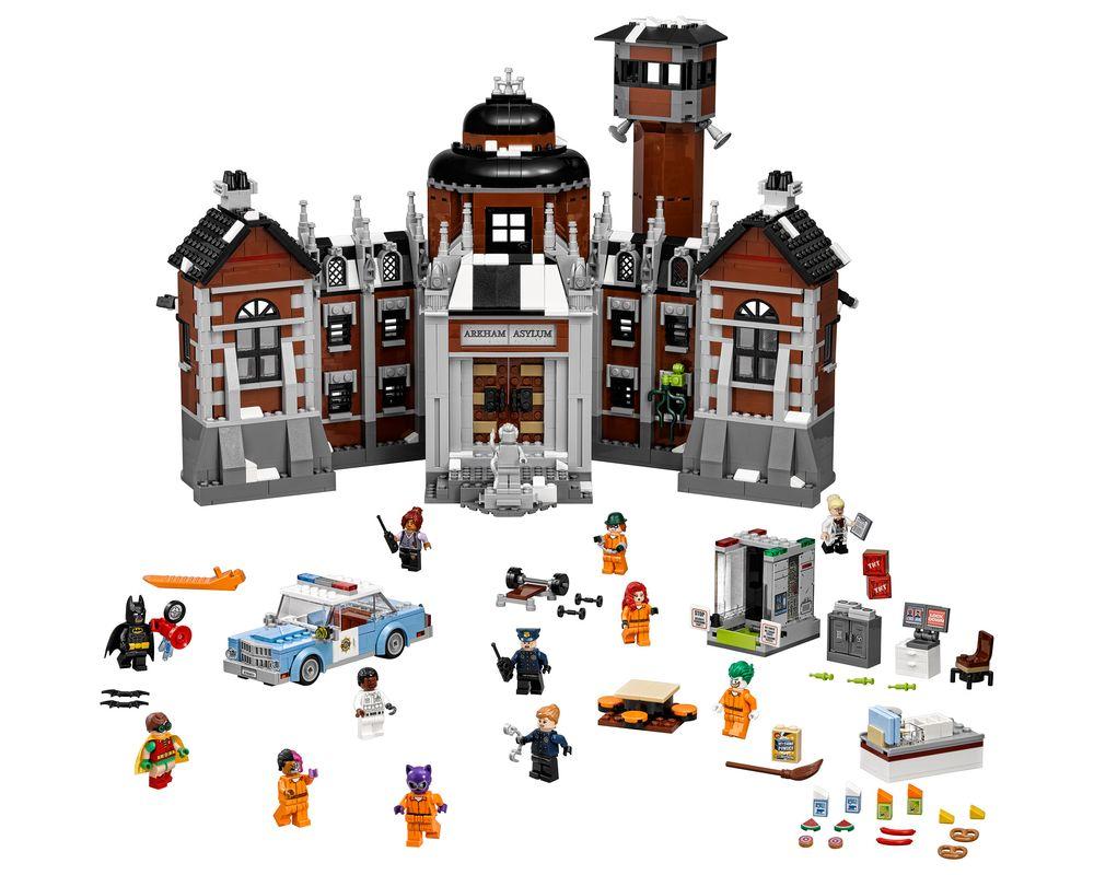 LEGO Set 70912-1 Arkham Asylum (Model - A-Model)